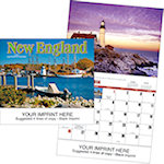 New England Wall Calendars